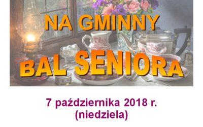 Bal Seniora 2018 r.