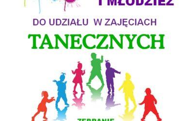 Zajęcia Taneczne-spotkanie organizacyjne