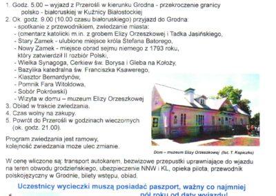 wycieczka Grodno